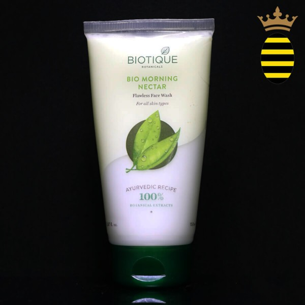 BIOTIQUE BIO MORNING NECTAR FACE WASH 150ML