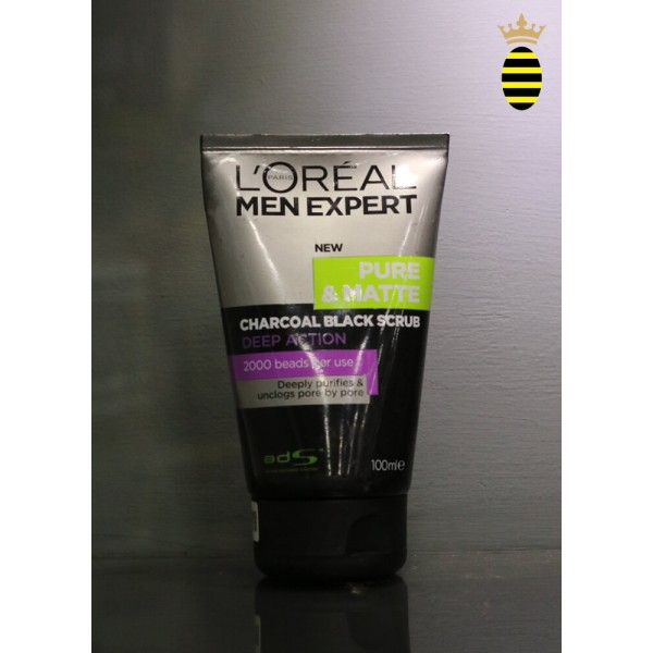 L'oreal Men Charcoal Face Wash