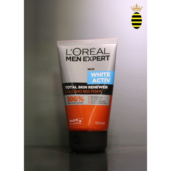 L'oreal Men Expert White Active Oil Control Face Wash