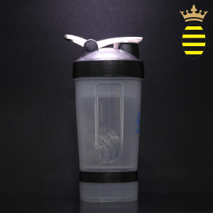 Shaker bottle 16oz / 450ml with 8 pieces