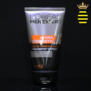 L'Oréal Men Expert Hydra Energetic Facial Cleanser with Charcoal for Daily Face Wash 150ml