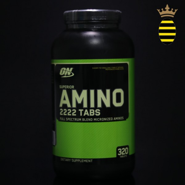 Optimum Nutrition Superior Amino 2222 Tabs (320 Tablets)